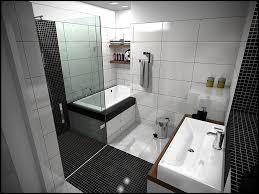 favorable black mosaic tile modern bathroom flooring including rectangular white ceramic bathroom wall and black mosaic tile bathtub surround splend x jpg