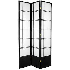 ft black panel room dividerdcblkp  the home depot