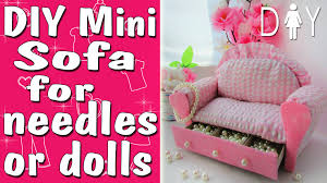 how to make doll furniture. doll furniture or the needle bar diy tuttorial how to make barbie