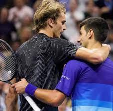 US Open: Was Zverev Djokovic bei langer Gratulation mit auf Weg gab - WELT