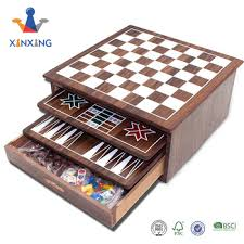 Wooden Box Board Games 100000 In 1000 Wooden Game Setmulti Game Box Buy Multi Game Box100000 In 91