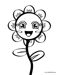 Small Picture Simple Flower Coloring Pages To Print 2950