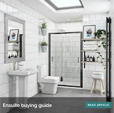 Wall hung vanity units are a great way to ensure utmost optimisation of your small space. Ensuite Bathroom Ideas Small Shower Room Ideas Victoriaplum Com