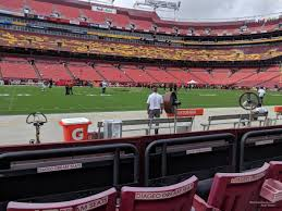 Fedex Field Landover Md Seating Chart Fedexfield Section 23 Rateyourseats Com
