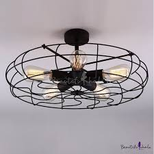 cheap kitchen lighting ideas. novelty loft industry wrought iron fan close to ceiling light cheap kitchen lighting ideas g