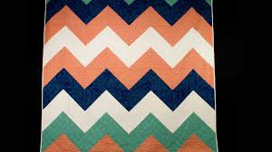 Chevron Quilt Pattern Simple Chevron Quilt Top Professor Pincushion