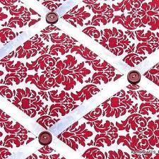 Damask Memo Board Fascinating Ribbon Bulletin Board Red Red Damask Memory Board French Memo Board