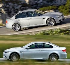 Coupe Series 2009 bmw m3 coupe : BMW M3 Sedan versus BMW M3 Coupe