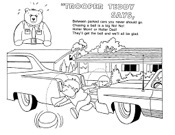 Small Picture Car Safety Coloring Pages Coloring Coloring Pages
