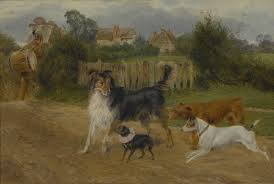 a w cooper dog painting
