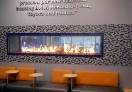 acucraft custom gas linear see through fireplace chevrolet dealership