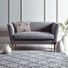 The Timsbury from Cox&Cox is a sleek and compact two-seater sofa, perfect  for
