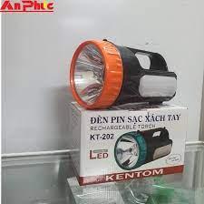Đèn pin sạc KT 202 Bình ắc quy khô : 6V5Ah Dòng điện sạc : 350mA