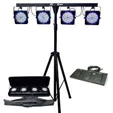 dj led lighting packages and light design best led stage 2016 dj with adjule stand dual