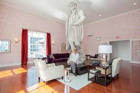 New York Living Room A Living Room Suspended Over Columbus Circle The New York Times