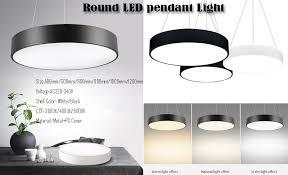 aluminium round shade led pendant lamp