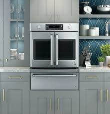 series built in french door single convection wall oven ge cafe reviews
