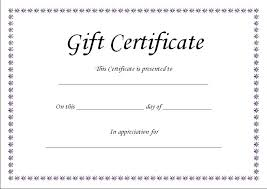 Gift Voucher Free Template Fake Gift Certificate Template Free Gift Certificate Template Fake