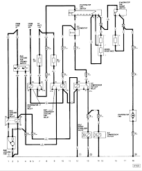 schematic for the air conditioning wiring of an 84 vanagon