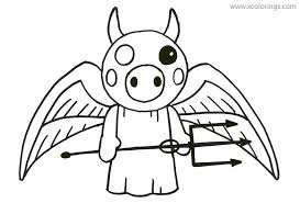 It is also controlled by scripts. Demon From Piggy Roblox Coloring Pages Xcolorings Com