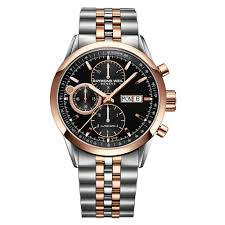 raymond weil lancer pvd rose gold plated and stainless steel raymond weil lancer pvd rose gold plated and stainless steel chronograph automatic men s watch