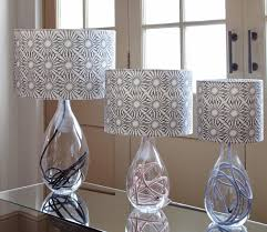 glass lamps by anna jacobs