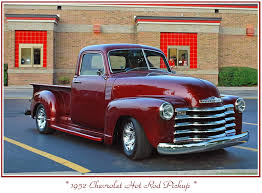 Candy Apple Red 1952 Chevy Pickup | Truck of my Dreams | Pinterest ...