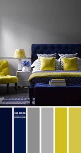 navy blue and lemon color scheme for