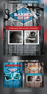 barber flyer barbershop flyer barber shop print templates and flyer size