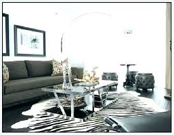 faux animal hide rugs zebra rug home design ideas co inside cowhide prepare 0 print