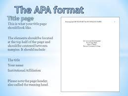 Titles In Apa Format Cooperative Apa Title Page 560 Cresume