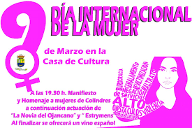 8 de marzo8mdía internacional de la mujerdía de la mujer. Dia Internacional De La Mujer 9 De Marzo En La Casa De Cultura Ayuntamiento De Colindres