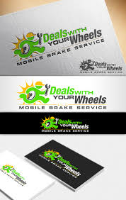 logo design by nivleik for deals with your wheels design 12027749
