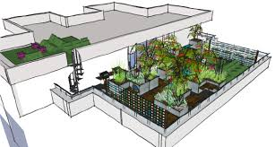 Small Picture London Garden Design E16 A Contemporary Communal Roof Terrace