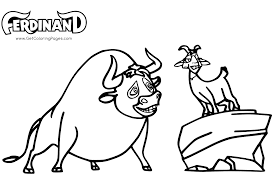 Ferdinand Coloring Pages 7 Colors Of Pictures