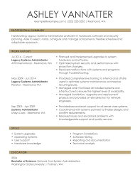 Resume Sample Examples For Your Job Application Example Of