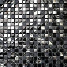 black and white diamond tile floor. Black And White Marble Tile Crackle Crystal Mosaic Diamond Silver Plating Glass Natural . Floor