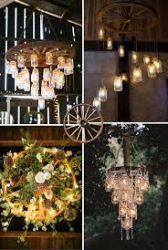 rustic and vintage old wagon wheel chandelier ideas diy creative wedding decoration wagon wheel chandelier
