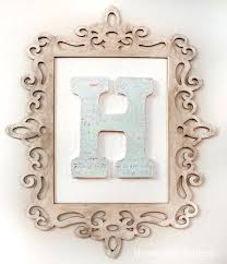 monogram letters for wall framed letters wooden monogram letters uk