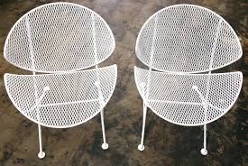 metal mesh patio chairs. Unique Metal Mesh Patio Chairs With White Metal And Materials  Large Size For I