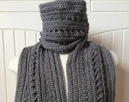 Mens Scarf Crochet Pattern Mesmerizing Crochet Scarf Pattern Winter Whisper Infinity Scarf With