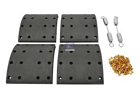 Dt 1 35000 Drum Brake Lining Kit Axle Kit Suitable For Ror