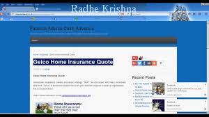 geico home insurance quote for senior citizens