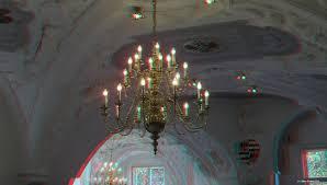 Kronleuchter Im Neuen Schloss Von Bad Muskau Foto Bild