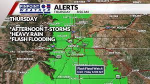 Flash Flood Watch issued; Denver, Front ...