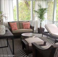 Indoor Privacy Screen Living Room Furniture Cottage And Vine 201409