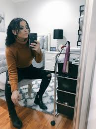 """Ashley Barajas♡ on Twitter: """"Was feeling my outfit today 🦁🖤… """""""