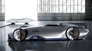mercedes benz silver arrow. Modren Mercedes 2018 MercedesBenz EQ Silver Arrow Pebble Beach Electric Concept Debuts  During Monterey Car Week Intended Mercedes Benz E