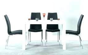 small dining table white and 6 chairs black high gloss sets great furniture trading company inside round ch d