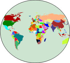 World Map Chart Maker World Map Simple Mapchart